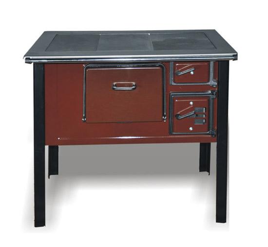 Kuchnia węglowa typu TK 2  610 bez szflady ciemny   -> Kuchnia Weglowa Bez Piekarnika